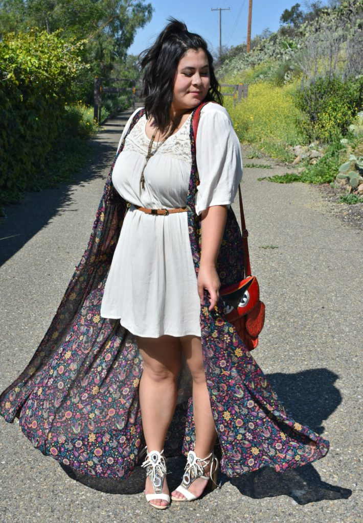 Summer Festivals In A Floral Duster Ootd Biancakarina